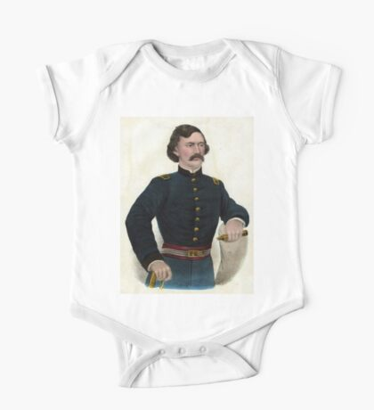 Col. Jas. A. Mulligan - Of the Illinois Irish Brigade - 1879 - Currier & Ives One Piece - Short Sleeve