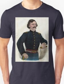 Col. Jas. A. Mulligan - Of the Illinois Irish Brigade - 1879 - Currier & Ives Unisex T-Shirt