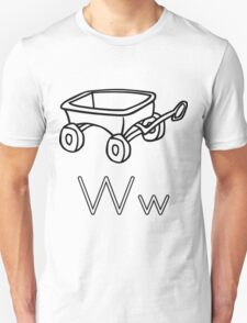 W for Wagon Unisex T-Shirt