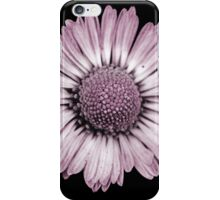 Retro Daisy in Pink iPhone Case/Skin
