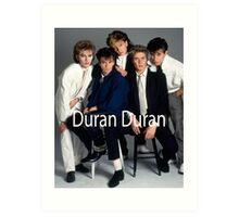 Vintage Duran Duran Band Art Print