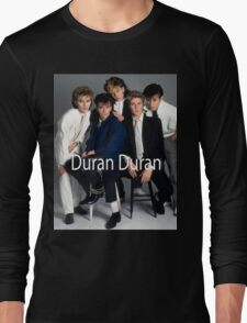 Vintage Duran Duran Band Long Sleeve T-Shirt