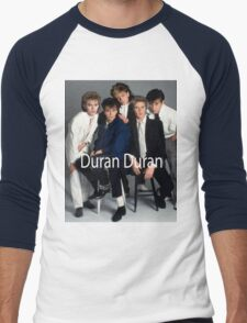 Vintage Duran Duran Band Men's Baseball ¾ T-Shirt