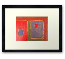 ABSTRACT 400 Framed Print
