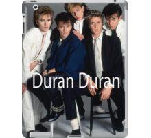 Vintage Duran Duran Band iPad Case/Skin