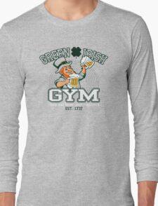 Green Irish Gym Long Sleeve T-Shirt