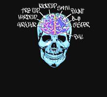 Skate On The Brain ~ Anachrotees Design Unisex T-Shirt