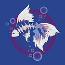 Fighting Fish by CatAstrophe