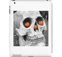 Skull with pumpkins iPad Case/Skin