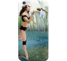 Fireflies on the Enchanted Lake - Arual iPhone Case/Skin