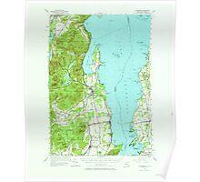 New York NY Willsboro 140324 1956 62500 Poster