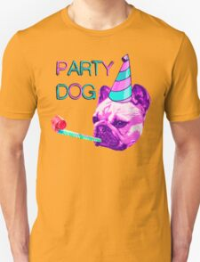 Frenchie Party Dog Unisex T-Shirt