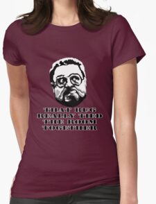 That Rug Really Tied The Room Together: Big Lebowski Movie Quote Womens Fitted T-Shirt