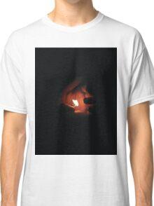 'Hand + Lighter' Design by LUCILLE Classic T-Shirt