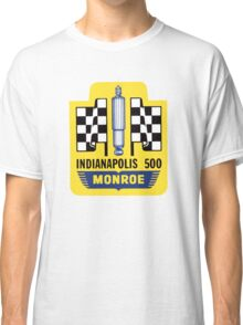 Vintage Indianapolis 500 decal Monroe Classic T-Shirt
