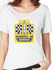 Vintage Indianapolis 500 decal Monroe Women's Relaxed Fit T-Shirt