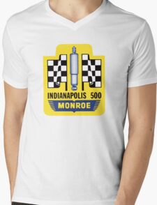 Vintage Indianapolis 500 decal Monroe Mens V-Neck T-Shirt