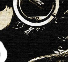 DJ Skeleton Sticker