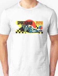 Vintage ELF motoroil Race decal T-Shirt