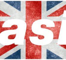 Oasis tshirt Sticker