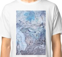 Crystal and Blue Persuasions Abstract III Classic T-Shirt
