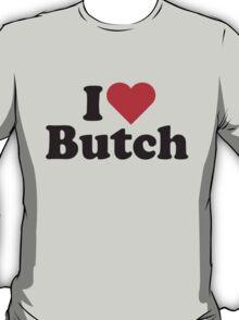 I Heart Love Butch T-Shirt