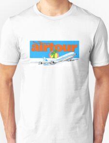 Vintage airline Sabena Airtour decal Unisex T-Shirt