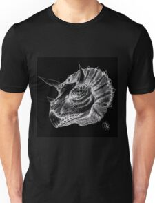 Inverted Triceratops Unisex T-Shirt