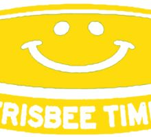 Frisbee Time Cool Ultimate Sticker