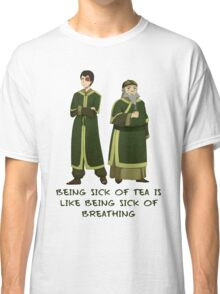 Zuko and Iroh Tea Shop with Qoute Classic T-Shirt