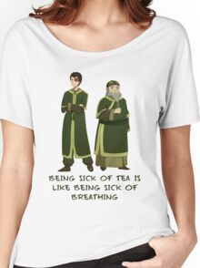 Zuko and Iroh Tea Shop with Qoute Women's Relaxed Fit T-Shirt