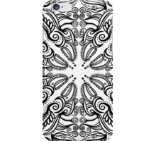 floral mandala iPhone Case/Skin