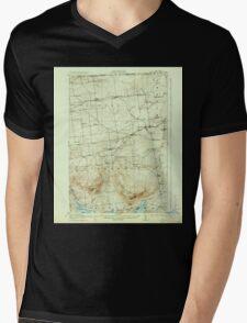New York NY Churubusco 122742 1915 62500 Mens V-Neck T-Shirt