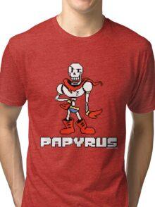 Papyrus (Undertale) Tri-blend T-Shirt