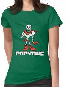 Papyrus (Undertale) Womens Fitted T-Shirt