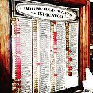 Household Wants by Robert Steadman