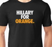 HILLARY FOR ORANGE. Unisex T-Shirt