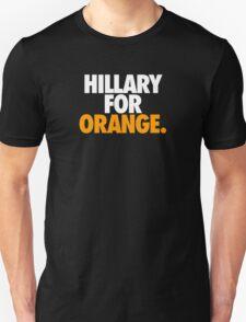 HILLARY FOR ORANGE. T-Shirt