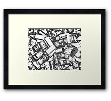 escaping reality Framed Print