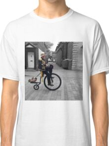 Steampunk Penny Farthing Classic T-Shirt