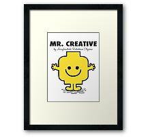 Mr Creative Framed Print