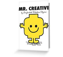 Mr Creative Greeting Card