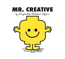 Mr Creative Photographic Print