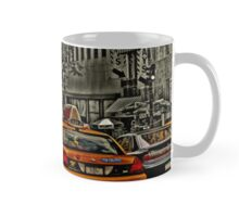 Yellow Cabs flow on 5th Ave Mug