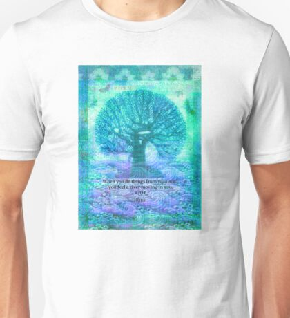 RUMI Joy quote Unisex T-Shirt