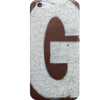 Vancouver Urban Alphabet - G iPhone Case/Skin
