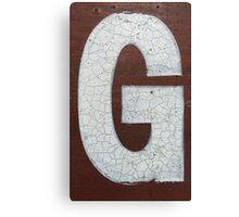 Vancouver Urban Alphabet - G Canvas Print