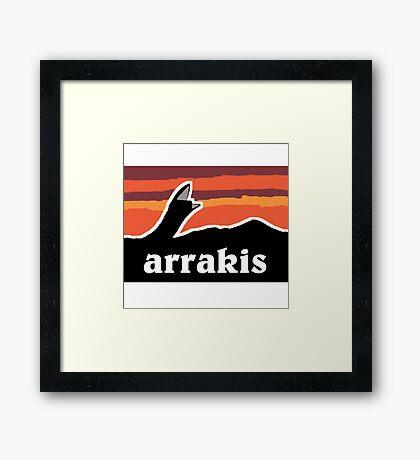 Arrakis Framed Print