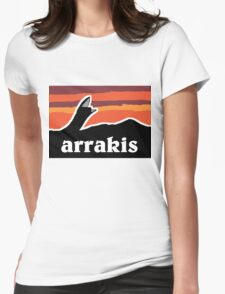 Arrakis Womens Fitted T-Shirt