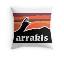 Arrakis Throw Pillow